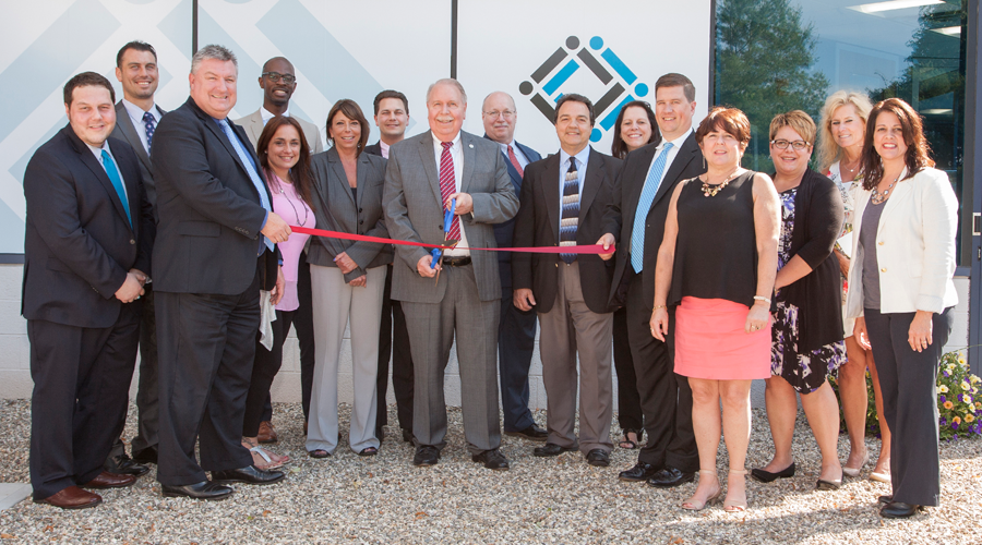 Mutual Security Credit Union team at Shelton branch grand opening