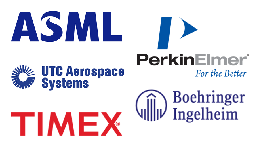 Logos from Select Employer Groups